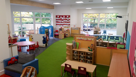 New University of Cumbria Pre School Centre